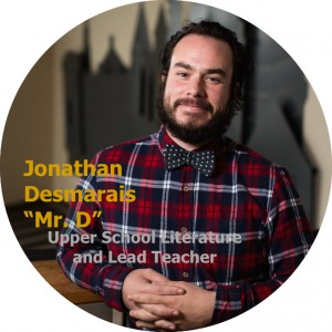 Jonathan Desmarais • Logos Academy Upper School Literature and Lead Teacher