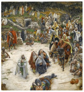 Tissot, What Our Lord Saw From the Cross
